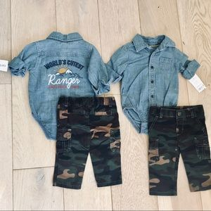 3m twin boy outfits carters